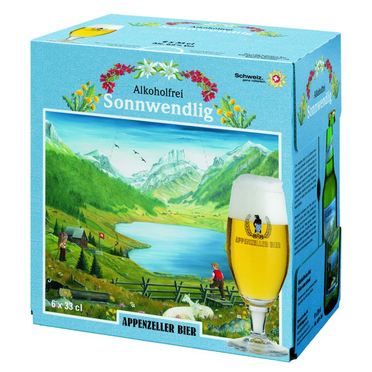 Beer Multipacks - Appenzeller Alcohol Free Sonnwendlig Beer 6x33cl
