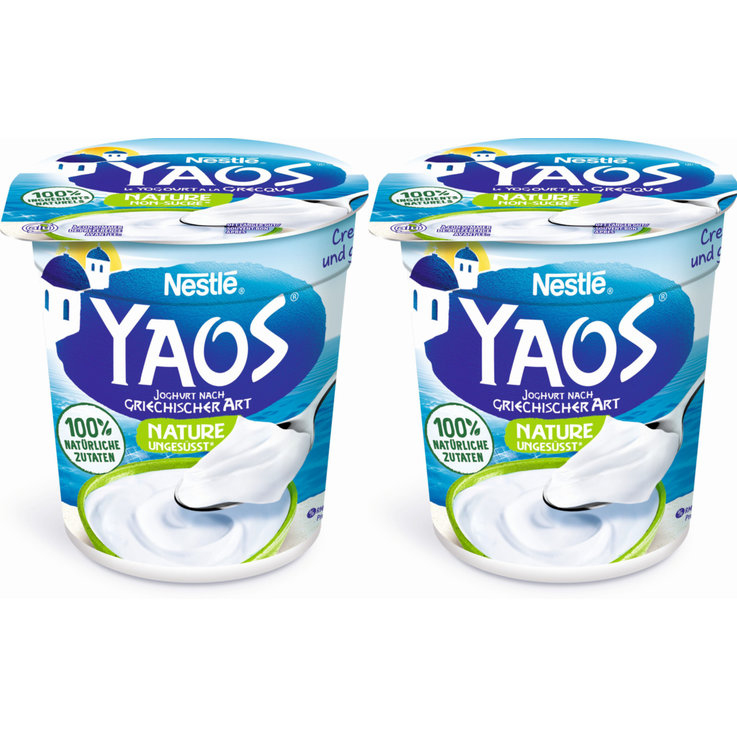 Jogurt Nature - Yaos Griechischer Jogurt Nature 2x150g