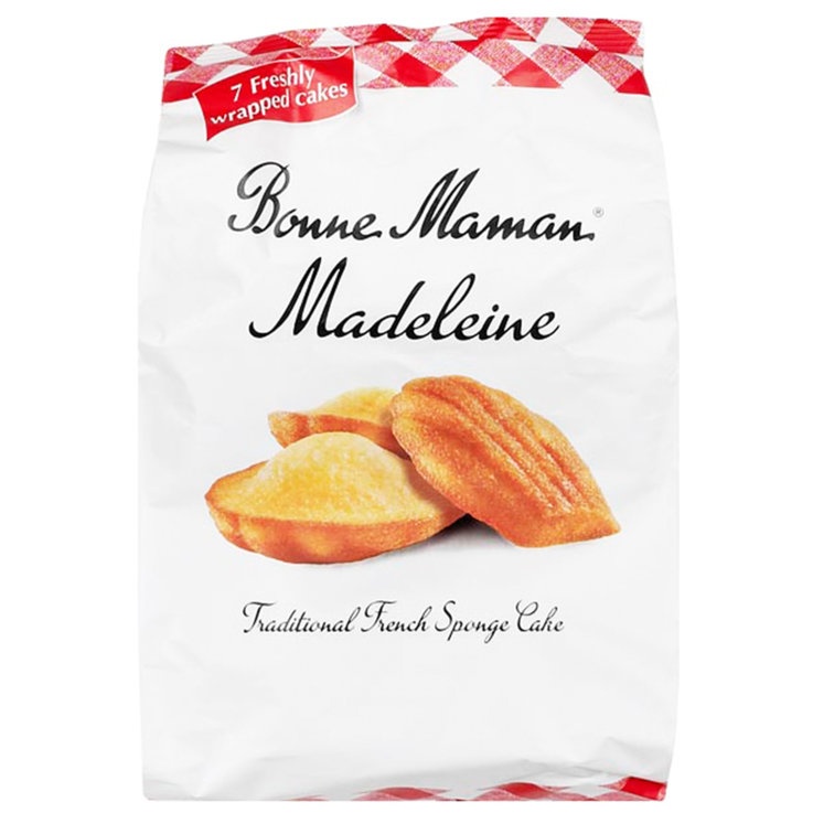 Cakes & Tarts - Bonne Maman Butter Madeleines 7 Pieces