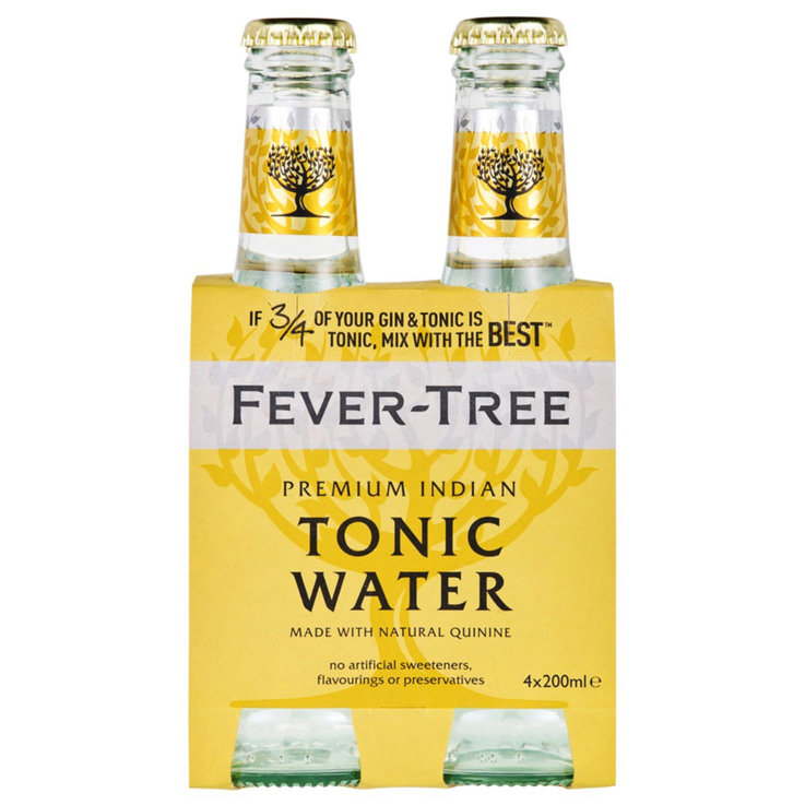 Bitter & Tonic - Fever Tree Tonic Water 4x20cl