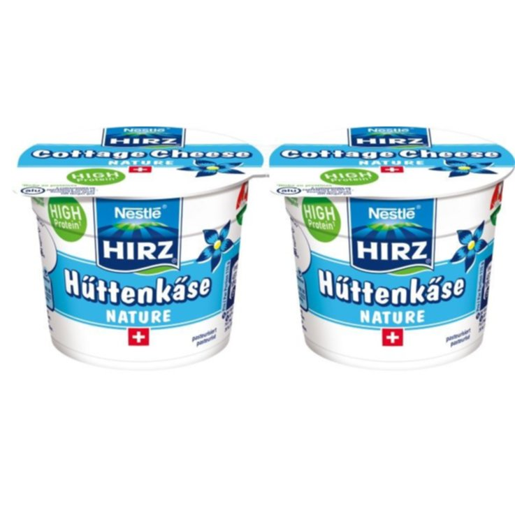 Cottage cheese - Hirz Cottage cheese al naturale 2x115g