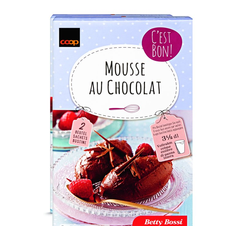 Dessert Mixes - Betty Bossi Fairtrade  Chocolate Mousse Mix 2x80g