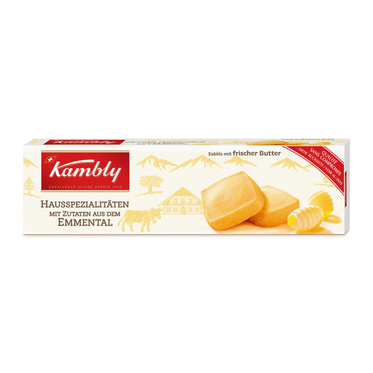 Butter Cookies - Kambly Butter Shortbread Biscuits