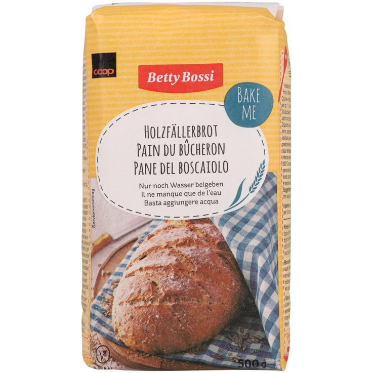 Bread Mixes - Betty Bossi Country Bread Mix