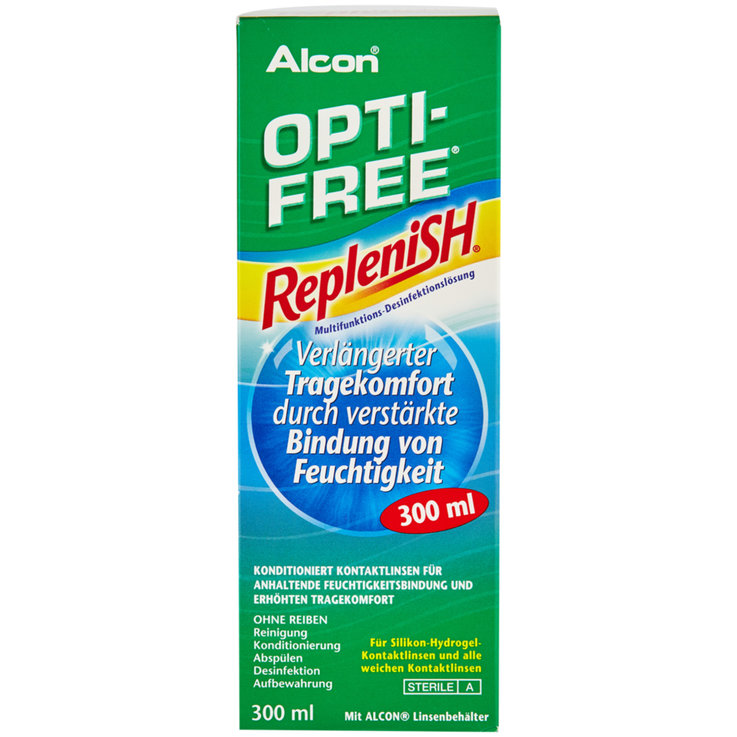 Medicine Cabinet - Opti-Free Replenish Contact Lens Solution