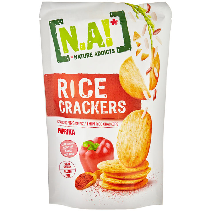 Crackers - N.A! Paprika Rice Cracker