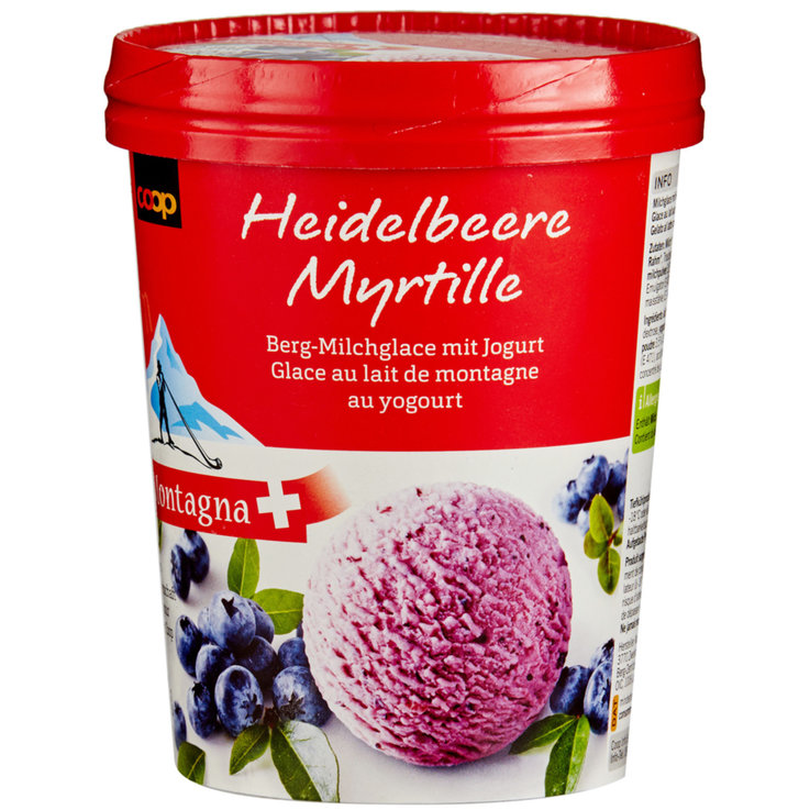 Fruity - Pro Montagna Mountain Blueberry Ice Cream with Yogurt