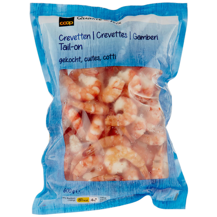 Shellfish & Seafood - Frozen Cooked Shrimp