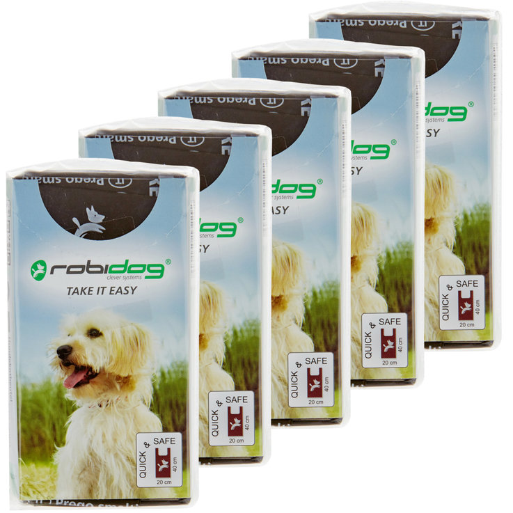 Hygiene and Care - robidog TAKE IT EASY 25 Dog Waste Bags Dark Brown 5x  25PCE