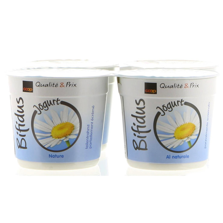Yogurt al naturale - Bifidus Yogurt al naturale 4x125g