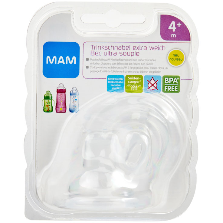Dishes - MAM Extra soft Bottle Spout