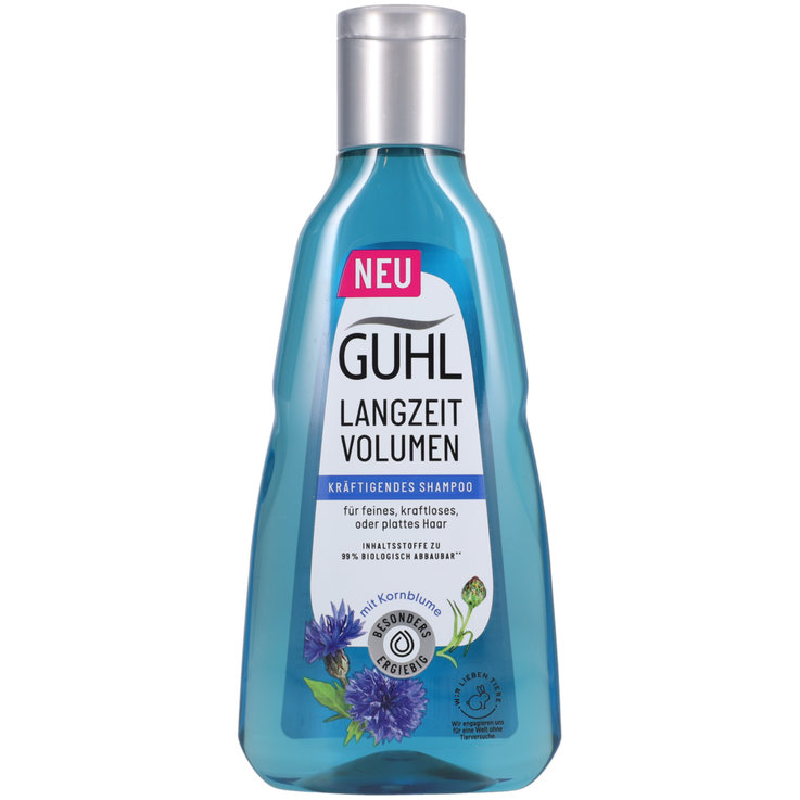 Shampooings volume - Guhl Shampooing au lotus bleu ultra volume