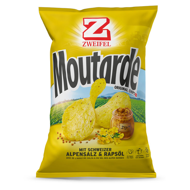 Vinegar & Gewürz Chips - Zweifel Chips Moutarde