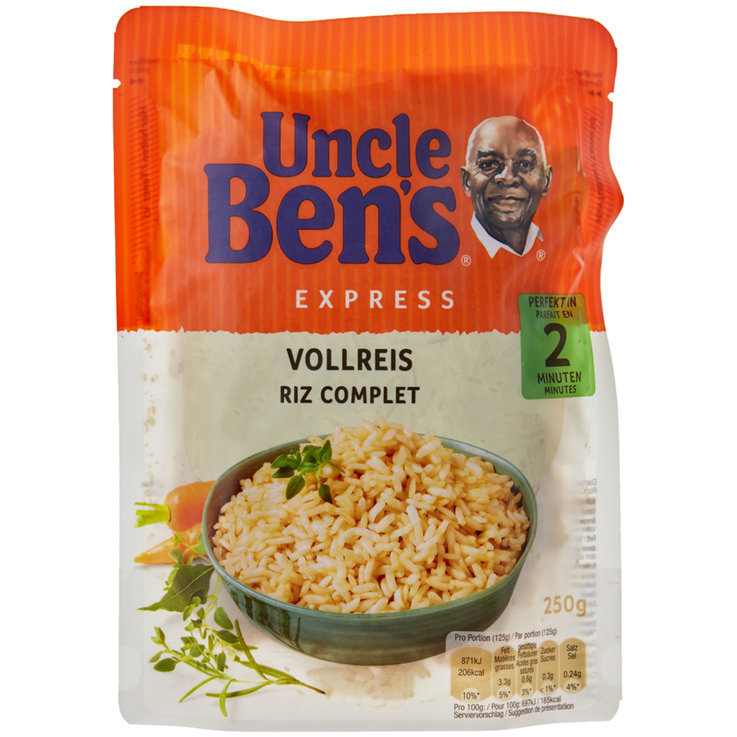 Wholegrain, Wild & Brown - Uncle Ben's Express Whole Grain Rice