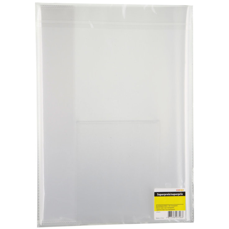 Miscellaneous - A4 Transparent Document Folder 3 Compartments