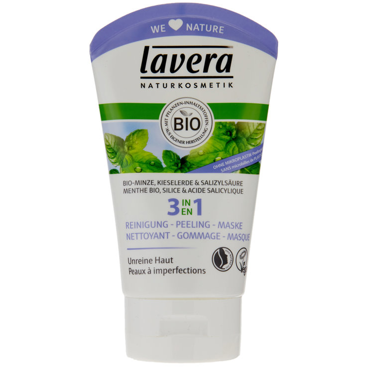 Wash Gel & Exfoliants - Lavera 3 in 1 Peeling Mask