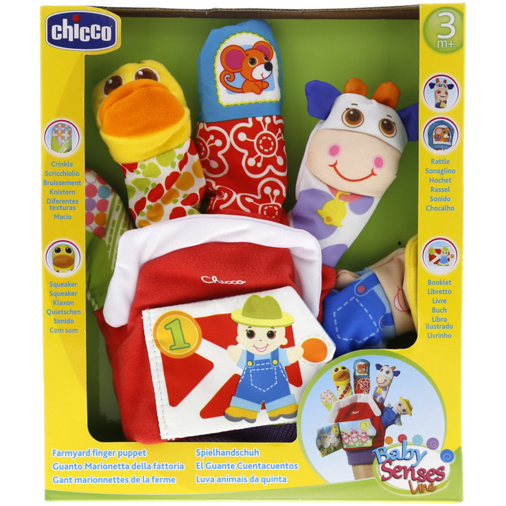Other Toys - Chicco The Farm Hand Puppets