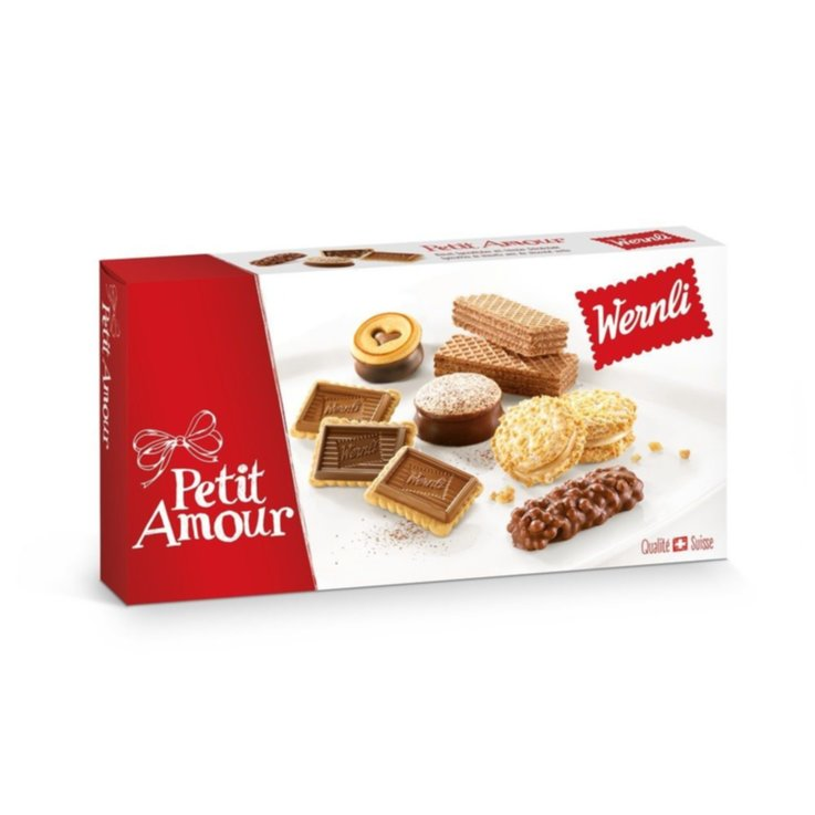 Cookie Assortments - Wernli Petit Amour Assorted Cookies