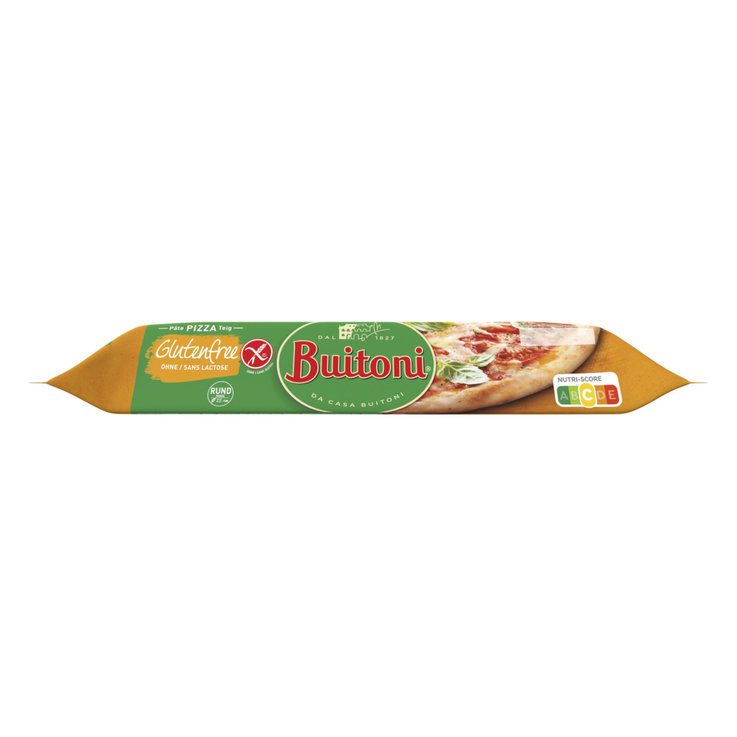 Pizza & Pasta Dough - Buitoni Gluten Free Rolled Out Round Pizza Dough Ø25cm