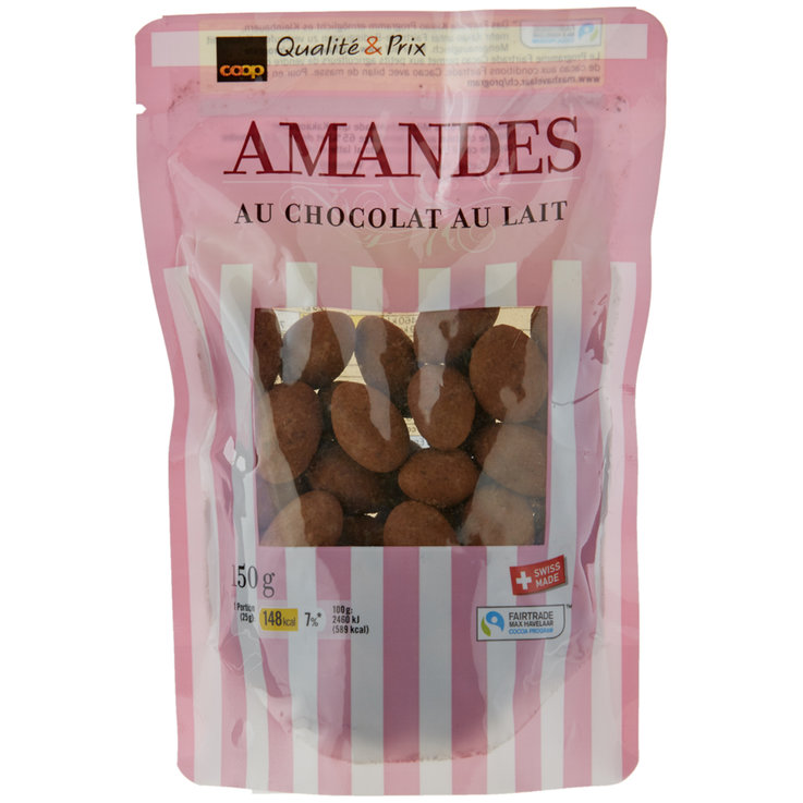 Sweet Nuts - Fairtrade Milk Chocolate Covered Almonds