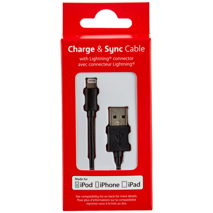 Household Appliances & Wires - Trend Charge Cable with Lightning Connector 1.2 m