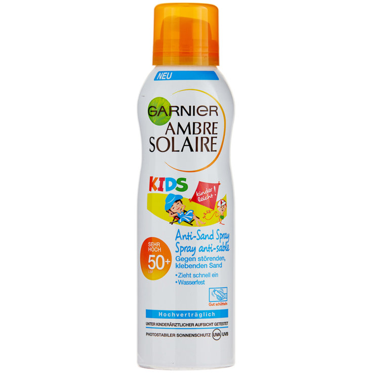 Protection Factor 50 - Ambre Solaire Kids Anti Sand Sunscreen SPF 50+
