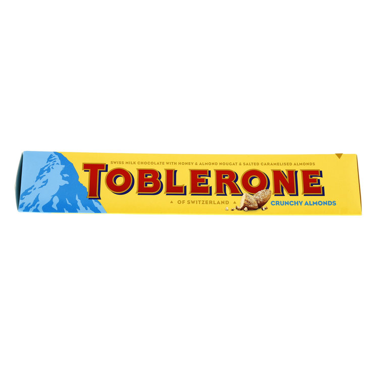 Milk with Nuts - Toblerone Crunchy Almonds Chocolate