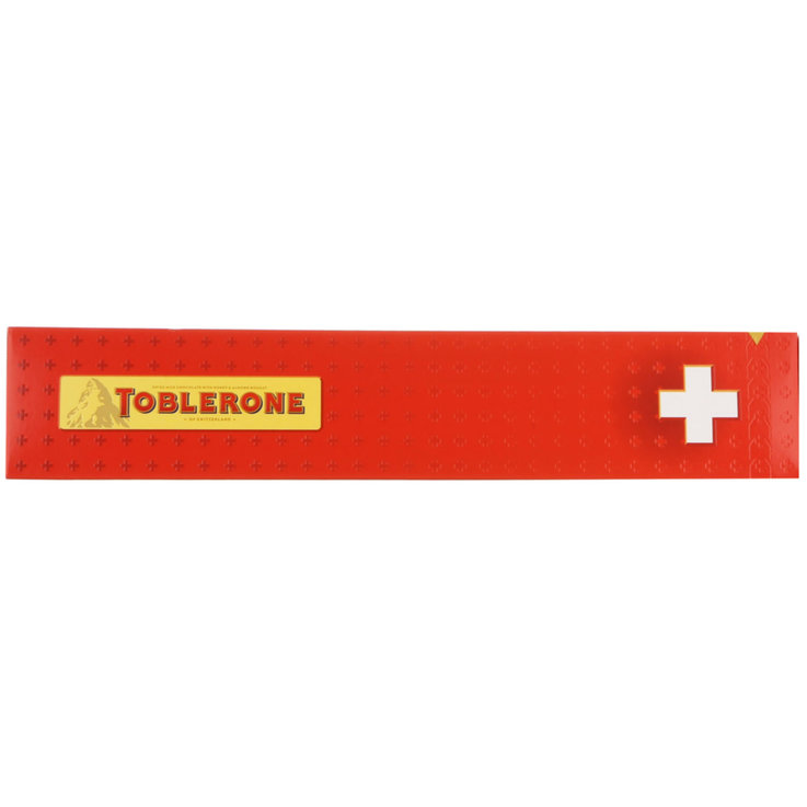 Milk - Toblerone Chocolate with the Swiss Flag