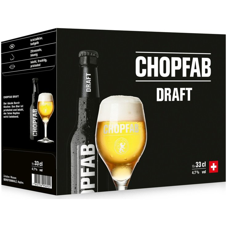 Beer Multipacks - Chopfab Draft Beer 10x33cl