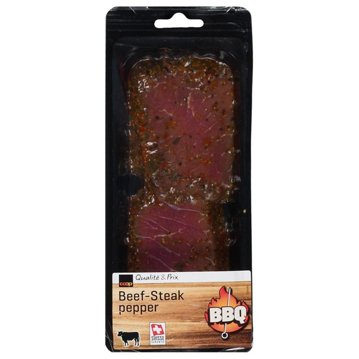 Beef - BBQ Pepper Beef Steak ca. 230g