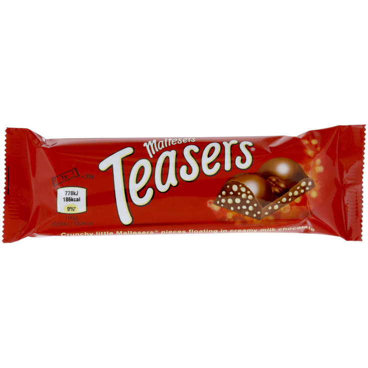 Chocolate Bars - Maltesers Teasers Chocolate Bar