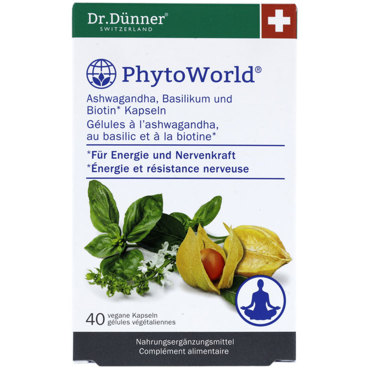 Pill - PhytoWorld Ashwagandha 40 Pieces