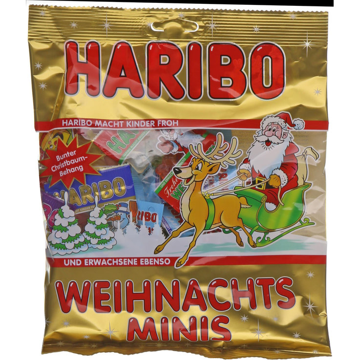 Chocolate and pastries - Haribo Mini Christmas Gummies