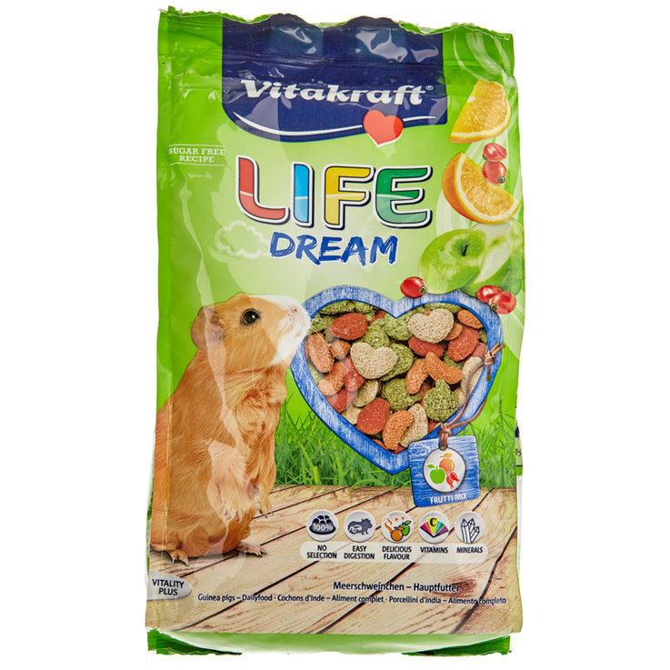 Guinea Pigs - Vitakraft LifeDream for Guinea Pigs 600 g