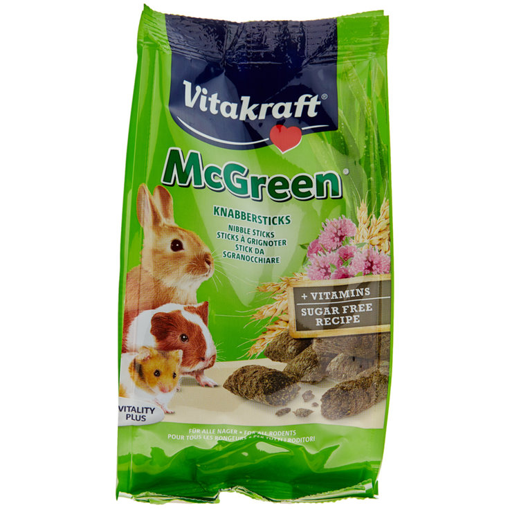 Rabbits - Vitakraft McGreen for All Rodents 50 g