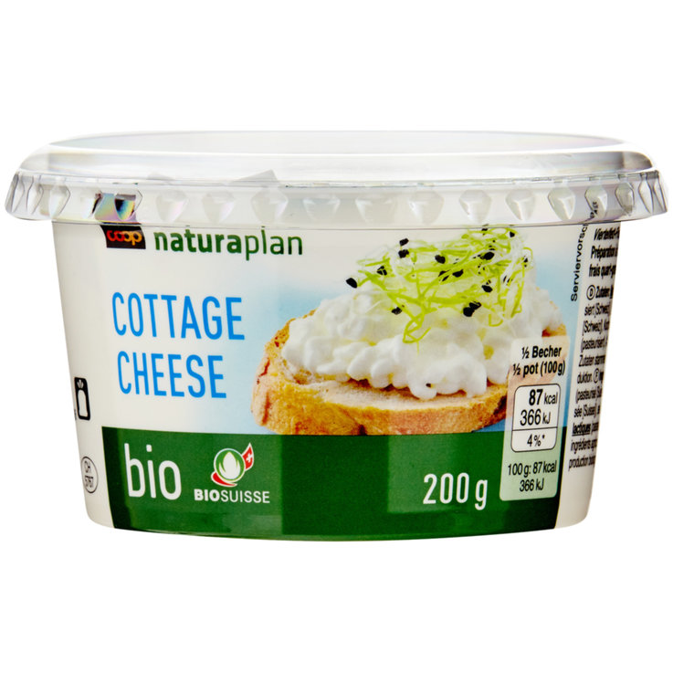 Cottage cheese - Naturaplan Bio Cottage cheese nature