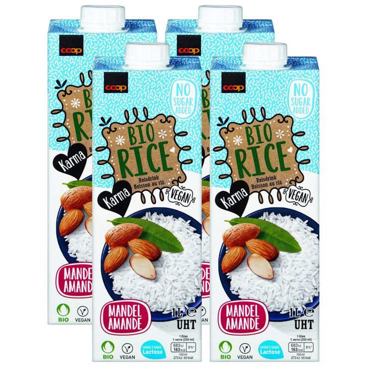 Milk Specialities - Karma Organic UHT Almond Rice Drink 2x  1l