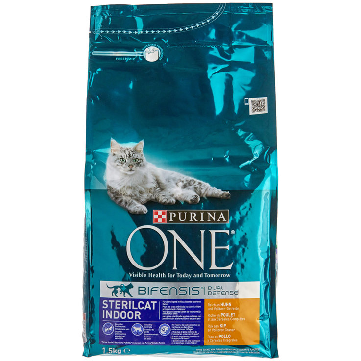 Dry Food - One Sterilcat Chicken & Cereal Dry indoor Cat Food