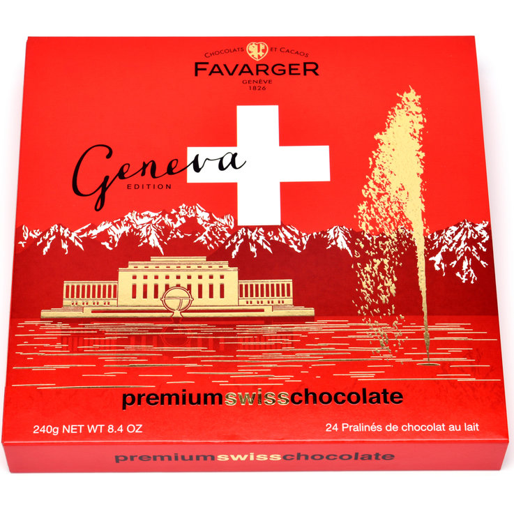 Chocolate Gifts - Favarger Avelines Geneva Edition Pralines