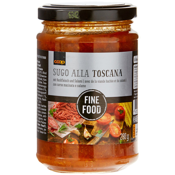 Tomato Sauce with Meat - Fine Food Toscanella Tomato Sauce