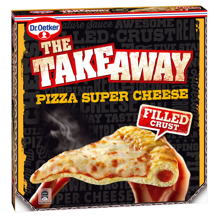 Pizzas - Dr. Oetker Pizza Super Cheese The Take Away surgelée