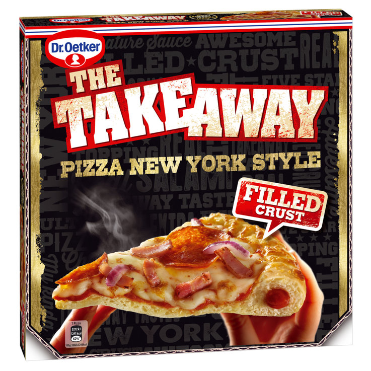 Pizza - Dr. Oetker The Take Away Frozen New York Style Pizza