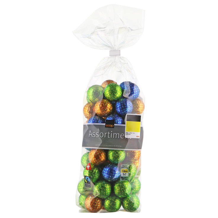 Praline Balls & Squares - Fairtrade Assorted Chocolate Balls