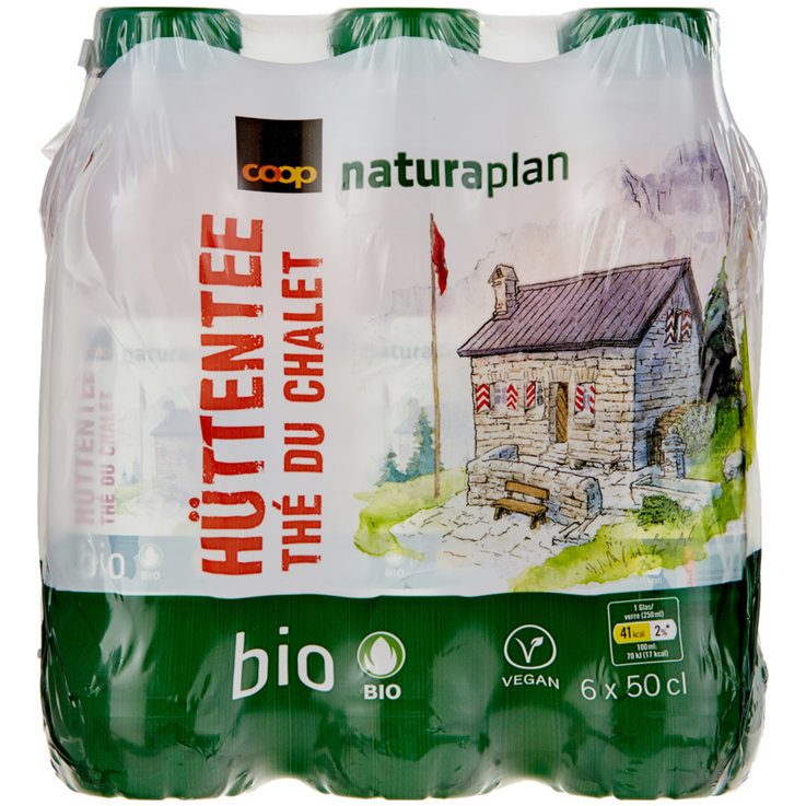 Multipacks under 1 Liter - Naturaplan Organic Cottage Ice Tea 6x50cl