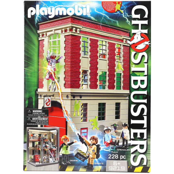 Playmobil - Playmobil 9219 Ghostbusters Feuerwache 6+ Jahre