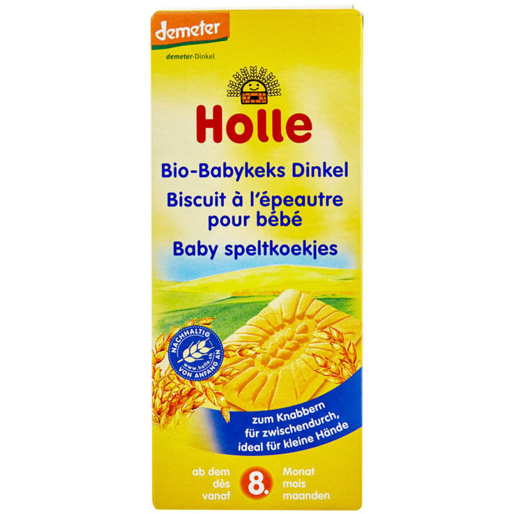 Snacks - Holle Bio Babykeks Dinkel 8+ Monate