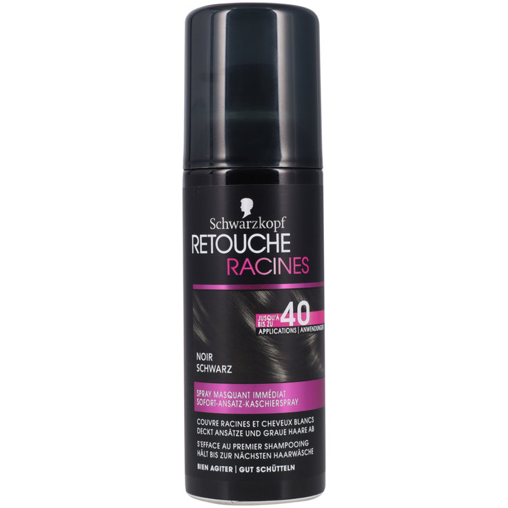 Retouching & Refreshing - Schwarzkopf Root Retouch Black Hair Dye