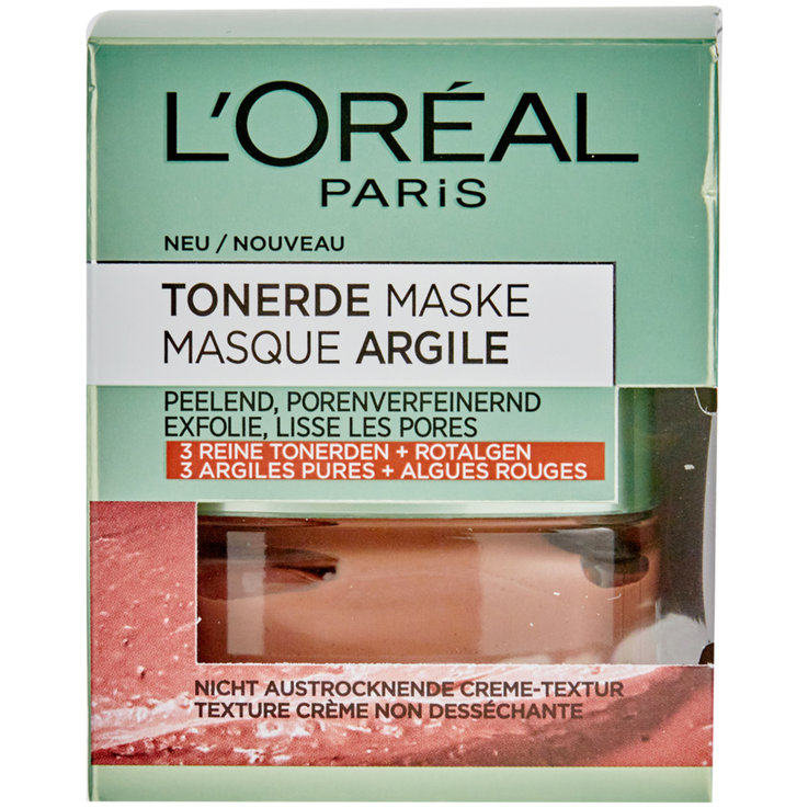 Serum & Masks - L'Oréal Clay Red Algae Facial Mask