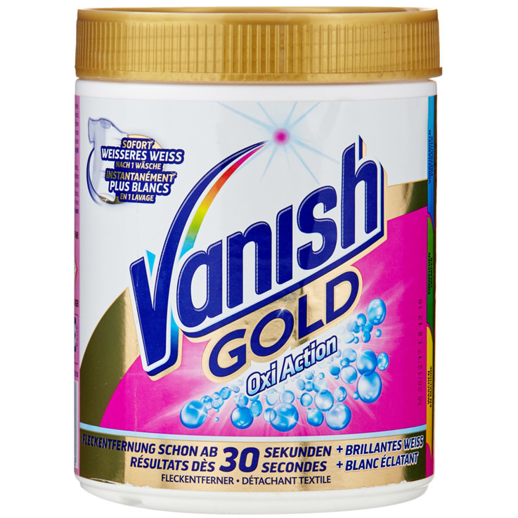 Détachant - Vanish Lessive en poudre détachante white Oxi Action Gold Universal