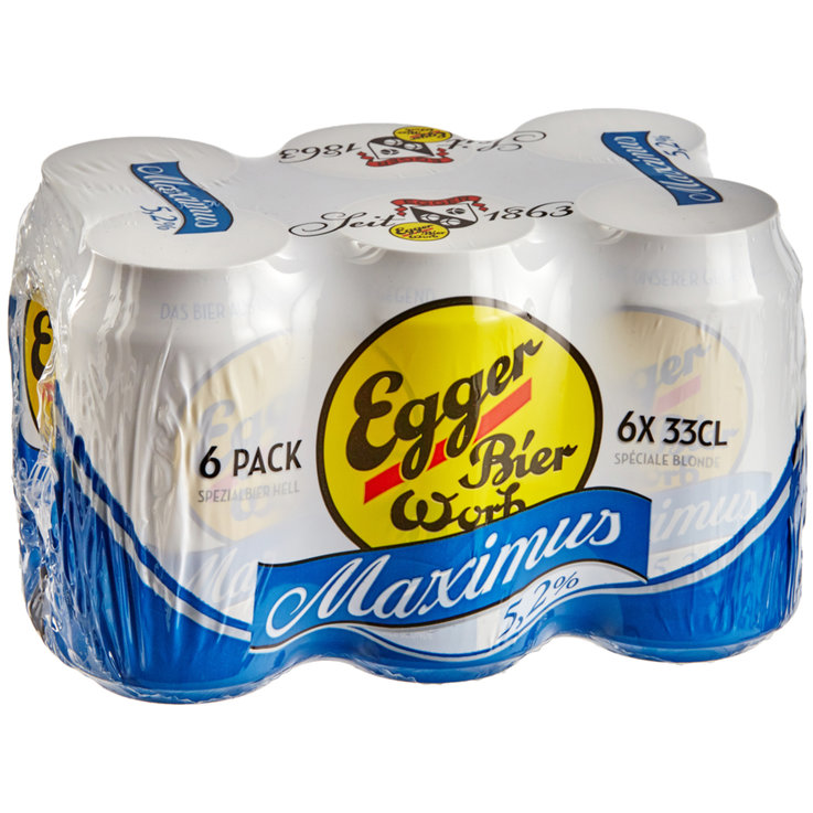 Blonde & Lager - Egger Spez Maximus Beer 6x33cl